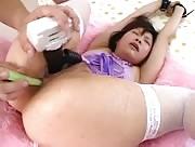 Video sexe Japonaise soumise par une Grosse bite